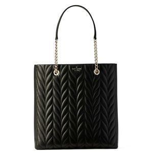KATE SPADE Briar Lane Quilted Slim Tote Handbag